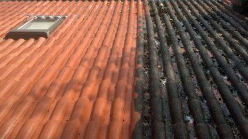 Demoussage de toiture entreprise à Nantes loire Atlantique