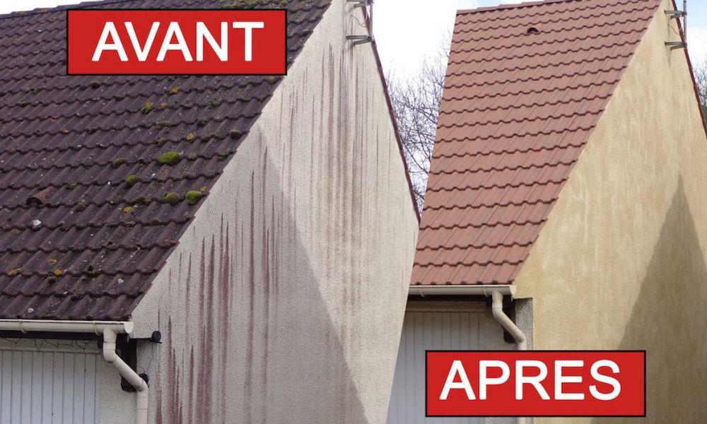 Nettoyage professionnel des façades