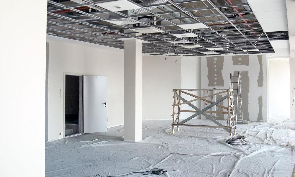 Nettoyage de fin de travaux de bureaux en Loire Atlantique