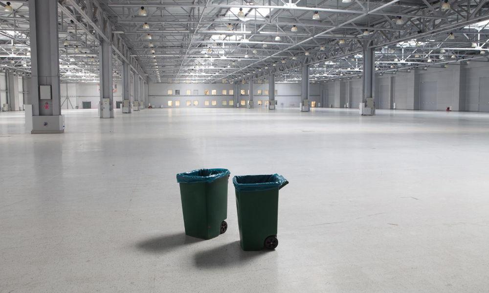 Nettoyage de fin de chantier d'une entreprise à Nantes