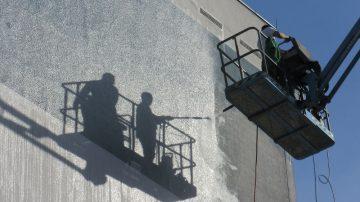 Nettoyage de bâtiments à haute pression à Nantes 44